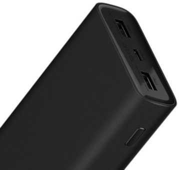 Универсальная батарея Xiaomi Mi Power Bank 3 20000mAh Black